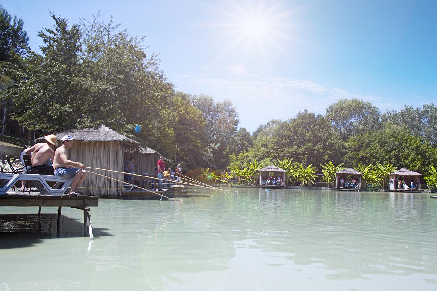 Ачигварское озеро в адлере